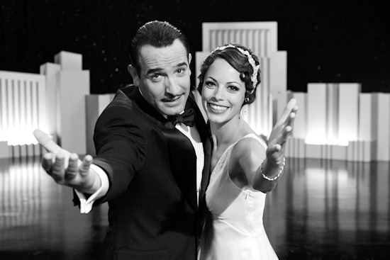Jean Dujardin and Bérénice Bejo in The Artist.
